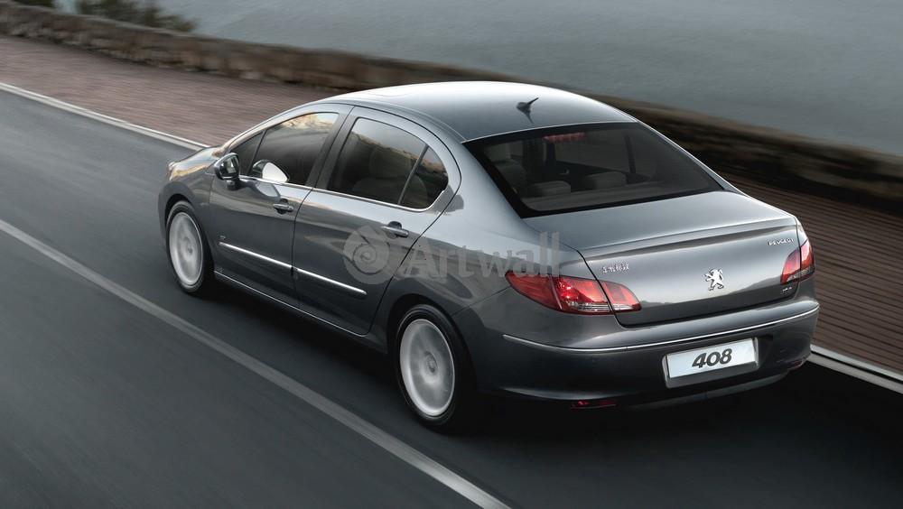 Постер Peugeot 408, 35x20 см, на бумаге408<br>Постер на холсте или бумаге. Любого нужного вам размера. В раме или без. Подвес в комплекте. Трехслойная надежная упаковка. Доставим в любую точку России. Вам осталось только повесить картину на стену!<br>
