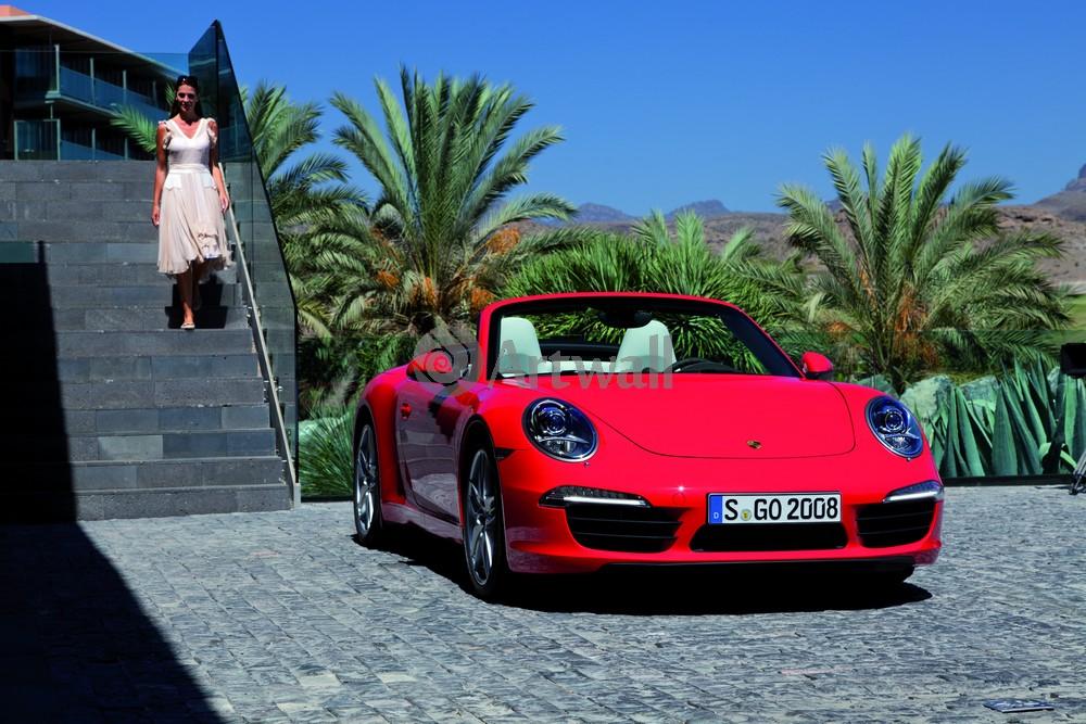 Постер Porsche 911 Carrera Cabriolet, 30x20 см, на бумаге911 Carrera Cabriolet<br>Постер на холсте или бумаге. Любого нужного вам размера. В раме или без. Подвес в комплекте. Трехслойная надежная упаковка. Доставим в любую точку России. Вам осталось только повесить картину на стену!<br>