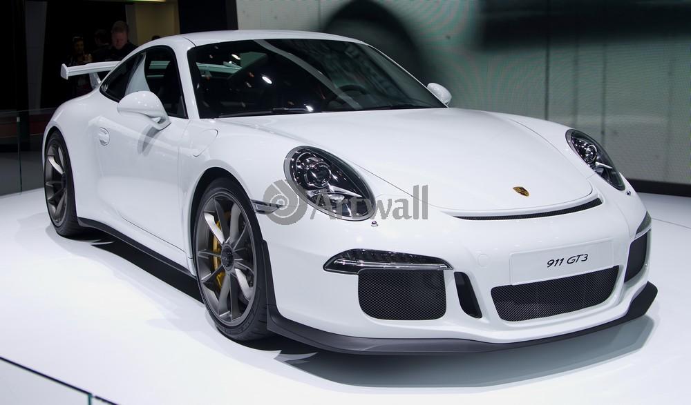 Постер Porsche 911 GT3, 34x20 см, на бумаге911 GT3<br>Постер на холсте или бумаге. Любого нужного вам размера. В раме или без. Подвес в комплекте. Трехслойная надежная упаковка. Доставим в любую точку России. Вам осталось только повесить картину на стену!<br>