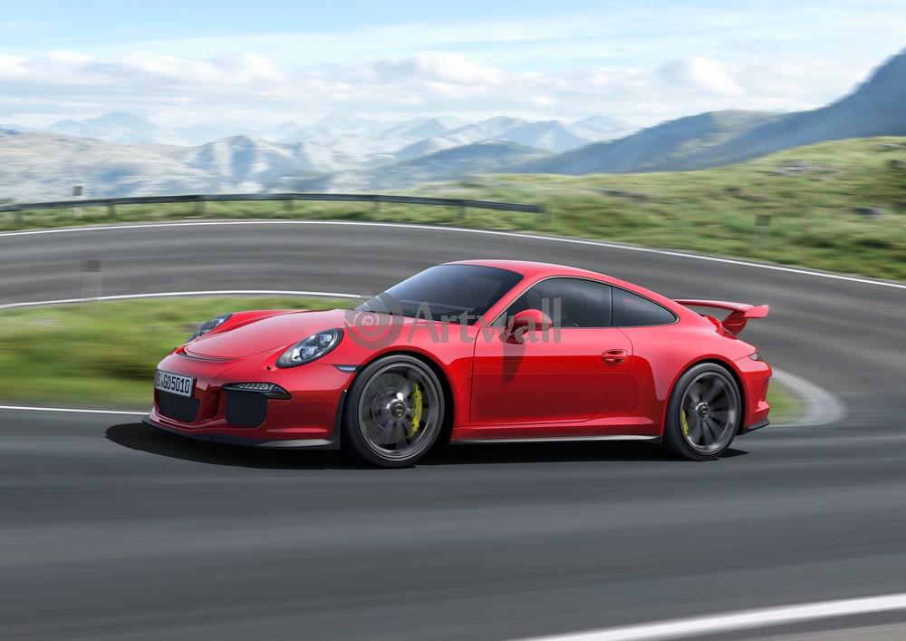 Постер Porsche 911 GT3, 28x20 см, на бумаге911 GT3<br>Постер на холсте или бумаге. Любого нужного вам размера. В раме или без. Подвес в комплекте. Трехслойная надежная упаковка. Доставим в любую точку России. Вам осталось только повесить картину на стену!<br>