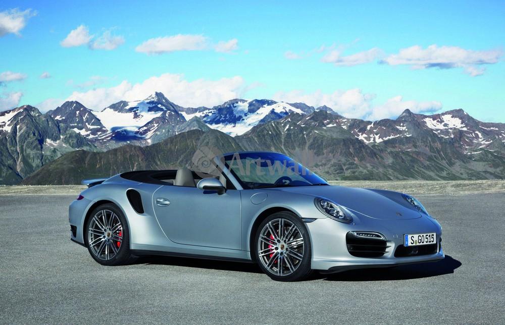 Постер Porsche 911 Turbo Cabriolet, 31x20 см, на бумаге911 Turbo Cabriolet<br>Постер на холсте или бумаге. Любого нужного вам размера. В раме или без. Подвес в комплекте. Трехслойная надежная упаковка. Доставим в любую точку России. Вам осталось только повесить картину на стену!<br>