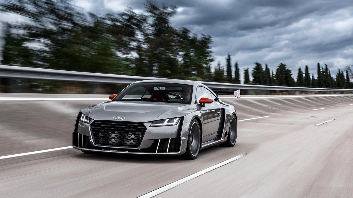 Постер Audi TT купе III (2014), 36x20 см, на бумагеTT Coupe<br>Постер на холсте или бумаге. Любого нужного вам размера. В раме или без. Подвес в комплекте. Трехслойная надежная упаковка. Доставим в любую точку России. Вам осталось только повесить картину на стену!<br>
