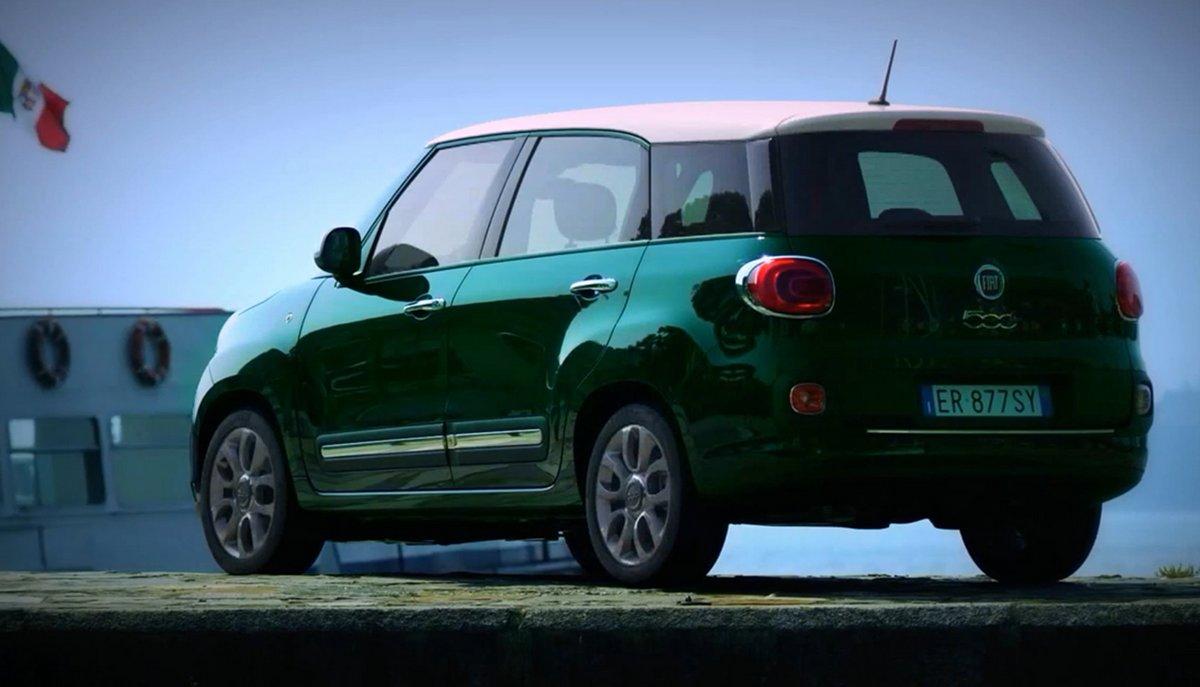 Постер Fiat 500L Living (2014), 35x20 см, на бумаге500L Living<br>Постер на холсте или бумаге. Любого нужного вам размера. В раме или без. Подвес в комплекте. Трехслойная надежная упаковка. Доставим в любую точку России. Вам осталось только повесить картину на стену!<br>