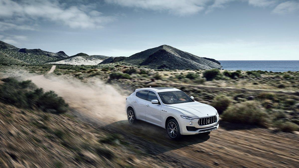 Постер Maserati LEVANTE (2016), 36x20 см, на бумагеLevante<br>Постер на холсте или бумаге. Любого нужного вам размера. В раме или без. Подвес в комплекте. Трехслойная надежная упаковка. Доставим в любую точку России. Вам осталось только повесить картину на стену!<br>