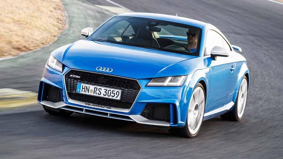 Постер Audi TT RS Coupe (2017), 36x20 см, на бумагеTT RS Coupe<br>Постер на холсте или бумаге. Любого нужного вам размера. В раме или без. Подвес в комплекте. Трехслойная надежная упаковка. Доставим в любую точку России. Вам осталось только повесить картину на стену!<br>