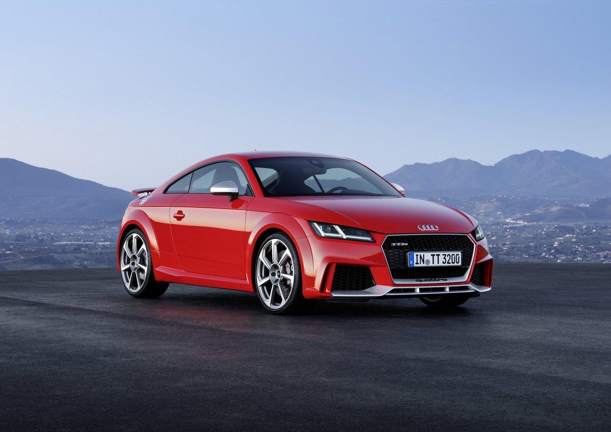 Audi TT RS Coupe (2017), 28x20 см, на бумагеTT RS Coupe<br>Постер на холсте или бумаге. Любого нужного вам размера. В раме или без. Подвес в комплекте. Трехслойная надежная упаковка. Доставим в любую точку России. Вам осталось только повесить картину на стену!<br>