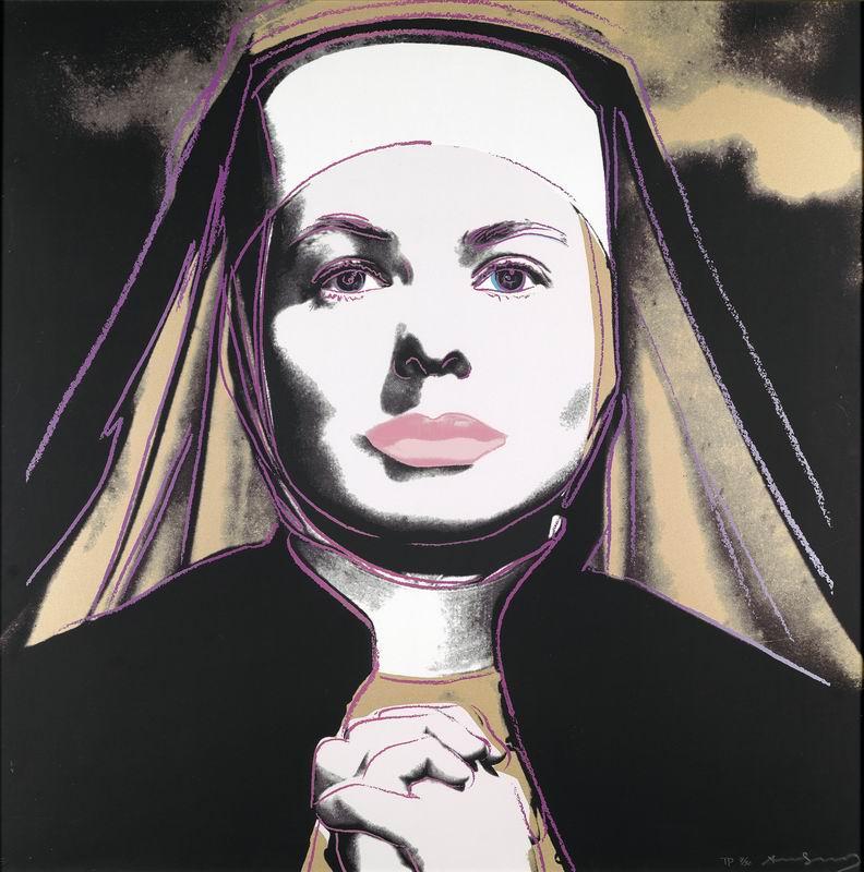 Уорхол Энди, картина Ингрид Бергман в роли монахиниУорхол Энди<br>Репродукция на холсте или бумаге. Любого нужного вам размера. В раме или без. Подвес в комплекте. Трехслойная надежная упаковка. Доставим в любую точку России. Вам осталось только повесить картину на стену!<br>