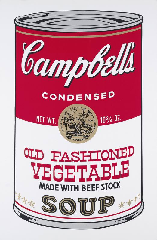 Уорхол Энди, картина Кемпбелл: Старомодный овощнойУорхол Энди<br>Репродукция на холсте или бумаге. Любого нужного вам размера. В раме или без. Подвес в комплекте. Трехслойная надежная упаковка. Доставим в любую точку России. Вам осталось только повесить картину на стену!<br>