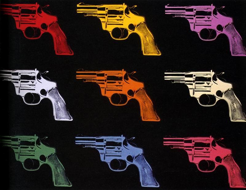 Уорхол Энди, картина Пистолет, 1982Уорхол Энди<br>Репродукция на холсте или бумаге. Любого нужного вам размера. В раме или без. Подвес в комплекте. Трехслойная надежная упаковка. Доставим в любую точку России. Вам осталось только повесить картину на стену!<br>