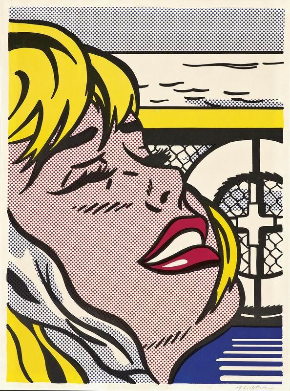 Лихтенштейн Рой, картина Девушка на кораблеЛихтенштейн Рой<br>Репродукция на холсте или бумаге. Любого нужного вам размера. В раме или без. Подвес в комплекте. Трехслойная надежная упаковка. Доставим в любую точку России. Вам осталось только повесить картину на стену!<br>