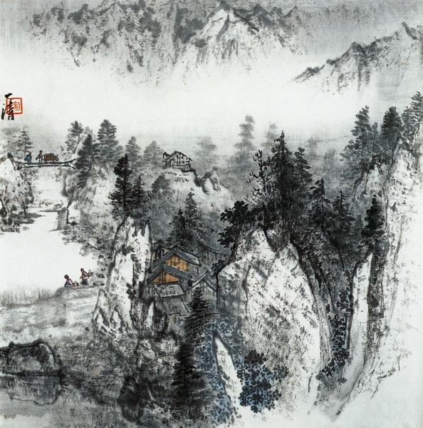 Китайская живопись и графика, картина Постер 5075Китайская живопись и графика<br>Репродукция на холсте или бумаге. Любого нужного вам размера. В раме или без. Подвес в комплекте. Трехслойная надежная упаковка. Доставим в любую точку России. Вам осталось только повесить картину на стену!<br>