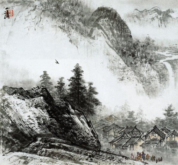 Китайская живопись и графика, картина Постер 5077Китайская живопись и графика<br>Репродукция на холсте или бумаге. Любого нужного вам размера. В раме или без. Подвес в комплекте. Трехслойная надежная упаковка. Доставим в любую точку России. Вам осталось только повесить картину на стену!<br>