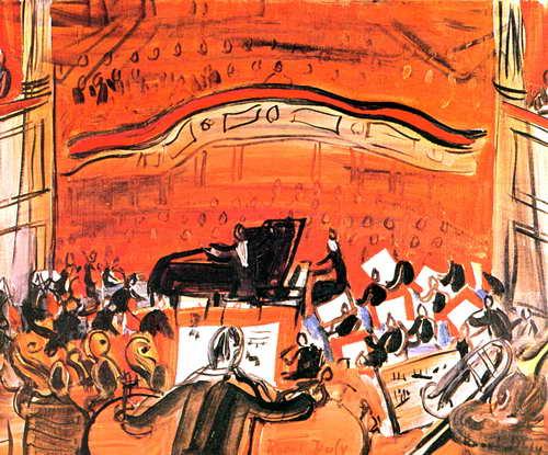 Дюфи Рауль, картина Красный концертДюфи Рауль<br>Репродукция на холсте или бумаге. Любого нужного вам размера. В раме или без. Подвес в комплекте. Трехслойная надежная упаковка. Доставим в любую точку России. Вам осталось только повесить картину на стену!<br>