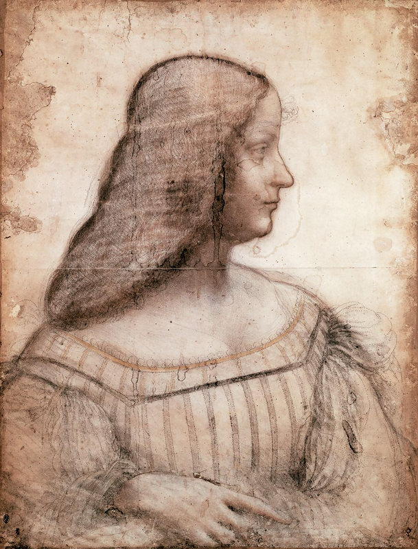 Графика, картина Леонардо да Винчи Изабелла д'Эсте, 20x26 см, на бумагеГрафика<br>Постер на холсте или бумаге. Любого нужного вам размера. В раме или без. Подвес в комплекте. Трехслойная надежная упаковка. Доставим в любую точку России. Вам осталось только повесить картину на стену!<br>