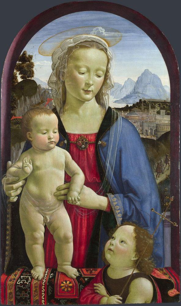 Искусство, картина Давид Гирландайо «Мадонна с младенцем и Святым Иоанном», 20x34 см, на бумагеМадонна с младенцем - живопись<br>Постер на холсте или бумаге. Любого нужного вам размера. В раме или без. Подвес в комплекте. Трехслойная надежная упаковка. Доставим в любую точку России. Вам осталось только повесить картину на стену!<br>