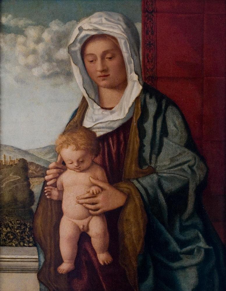Мадонна с младенцем - живопись, картина Мадонна с младенцем, mm3321Мадонна с младенцем - живопись<br>Репродукция на холсте или бумаге. Любого нужного вам размера. В раме или без. Подвес в комплекте. Трехслойная надежная упаковка. Доставим в любую точку России. Вам осталось только повесить картину на стену!<br>