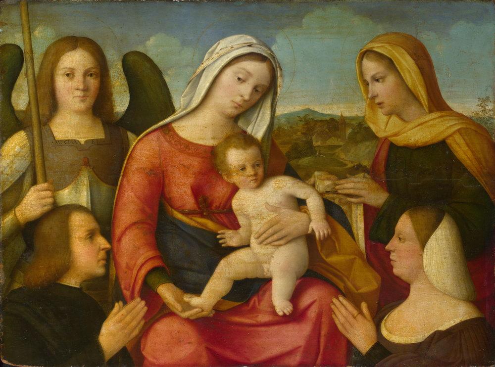 Мадонна с младенцем - живопись, картина Мадонна с младенцем, mm3324Мадонна с младенцем - живопись<br>Репродукция на холсте или бумаге. Любого нужного вам размера. В раме или без. Подвес в комплекте. Трехслойная надежная упаковка. Доставим в любую точку России. Вам осталось только повесить картину на стену!<br>