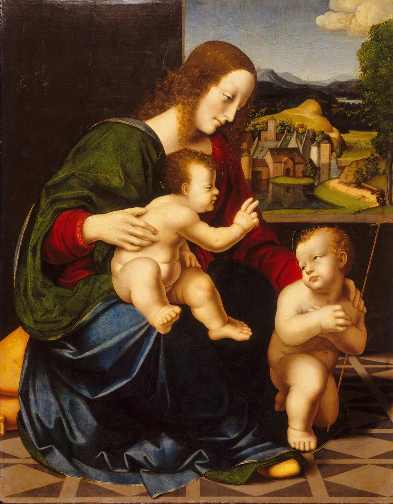 Мадонна с младенцем - живопись, картина Мадонна с младенцем, mm3332Мадонна с младенцем - живопись<br>Репродукция на холсте или бумаге. Любого нужного вам размера. В раме или без. Подвес в комплекте. Трехслойная надежная упаковка. Доставим в любую точку России. Вам осталось только повесить картину на стену!<br>