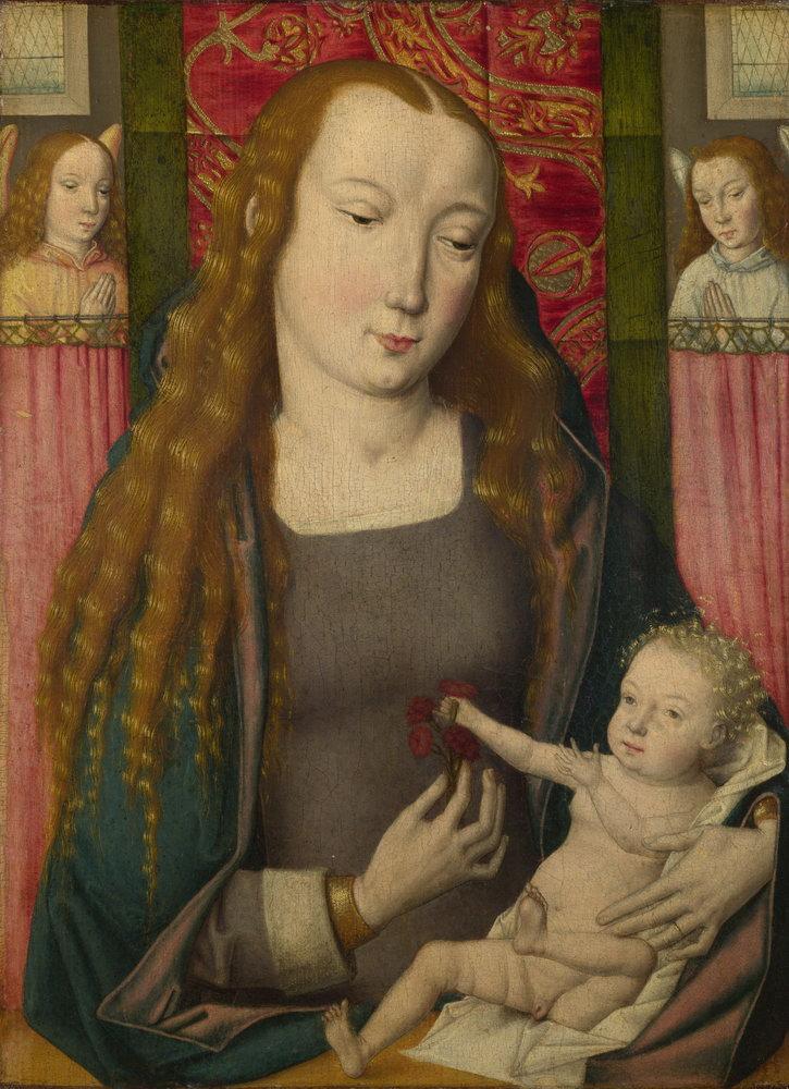 Мадонна с младенцем - живопись, картина Мадонна с младенцем, mm3355Мадонна с младенцем - живопись<br>Репродукция на холсте или бумаге. Любого нужного вам размера. В раме или без. Подвес в комплекте. Трехслойная надежная упаковка. Доставим в любую точку России. Вам осталось только повесить картину на стену!<br>