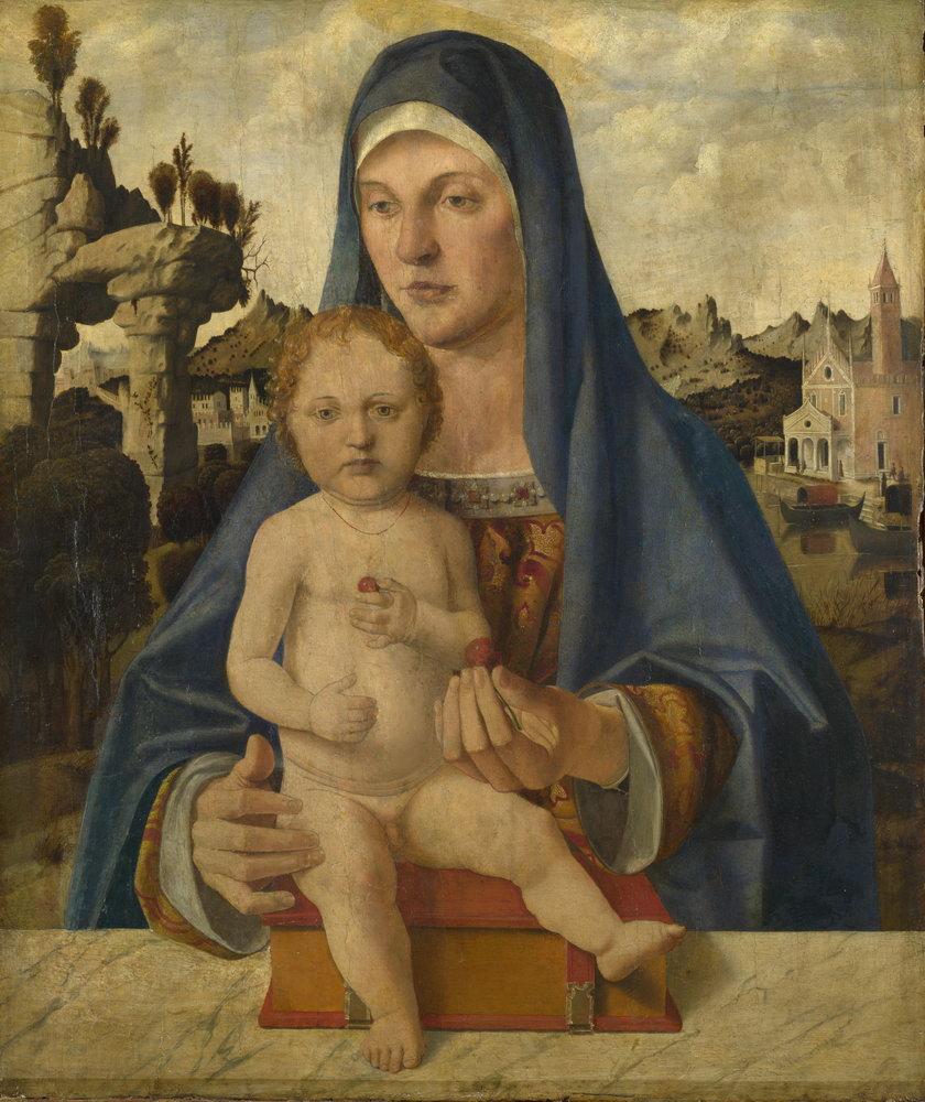 Мадонна с младенцем - живопись, картина Монтанья. Мадонна с младенцем (1)Мадонна с младенцем - живопись<br>Репродукция на холсте или бумаге. Любого нужного вам размера. В раме или без. Подвес в комплекте. Трехслойная надежная упаковка. Доставим в любую точку России. Вам осталось только повесить картину на стену!<br>