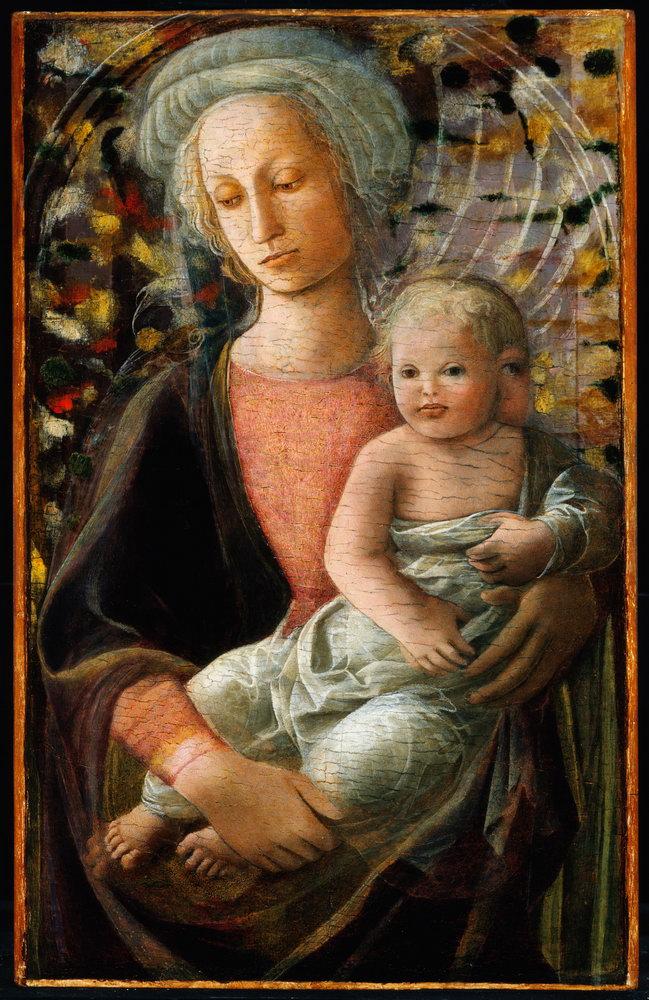 Мадонна с младенцем - живопись, картина Мадонна с младенцем, mm3380Мадонна с младенцем - живопись<br>Репродукция на холсте или бумаге. Любого нужного вам размера. В раме или без. Подвес в комплекте. Трехслойная надежная упаковка. Доставим в любую точку России. Вам осталось только повесить картину на стену!<br>