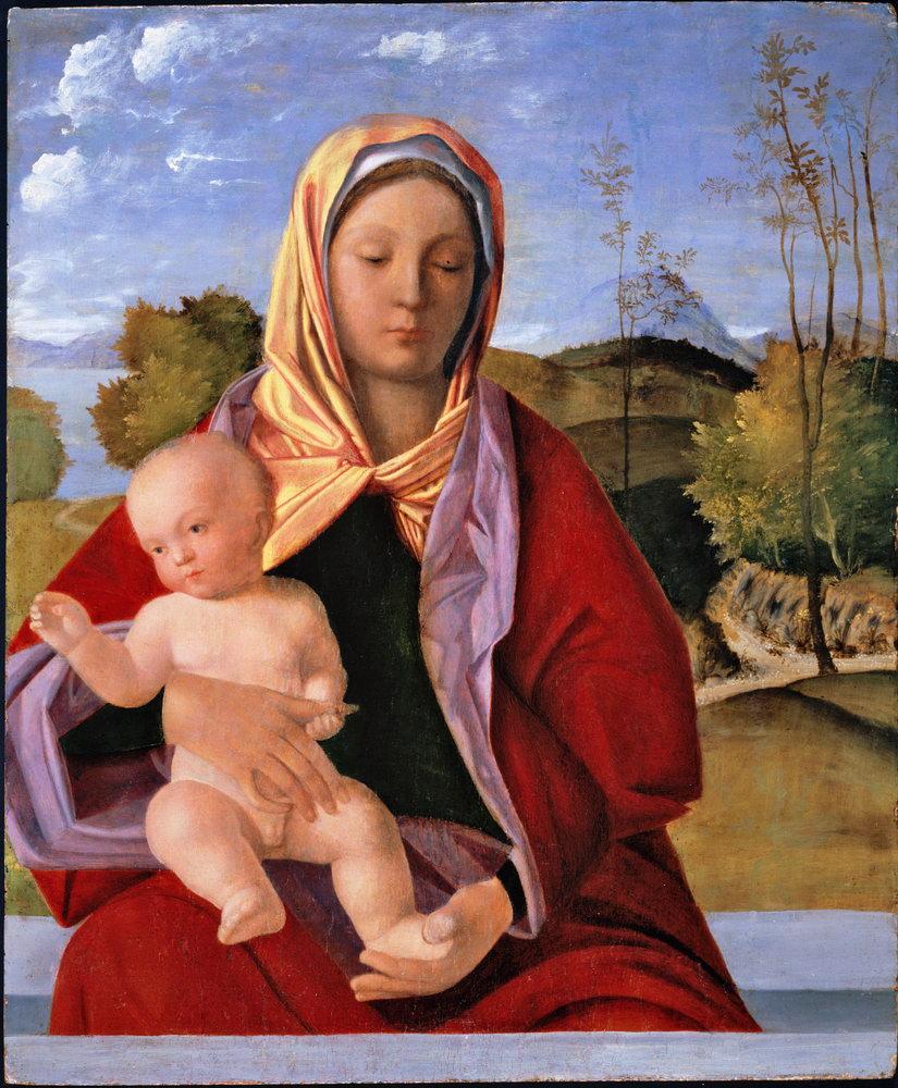 Мадонна с младенцем - живопись, картина Мадонна с младенцем, mm3401Мадонна с младенцем - живопись<br>Репродукция на холсте или бумаге. Любого нужного вам размера. В раме или без. Подвес в комплекте. Трехслойная надежная упаковка. Доставим в любую точку России. Вам осталось только повесить картину на стену!<br>