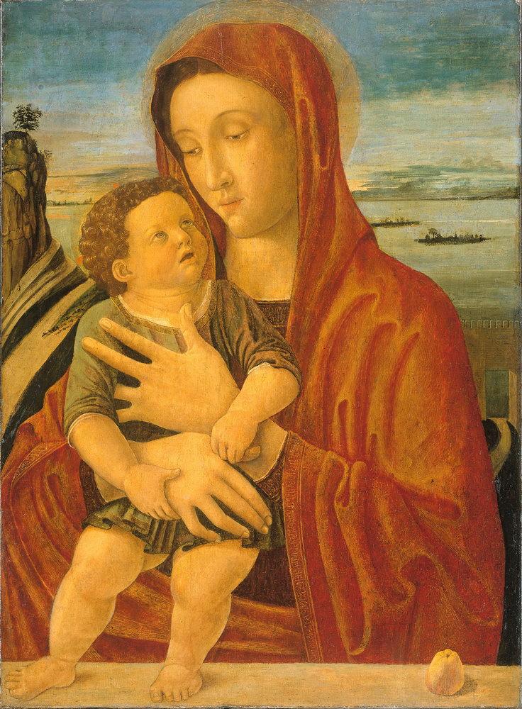 Мадонна с младенцем - живопись, картина Беллини. Мадонна с младенцем (6)Мадонна с младенцем - живопись<br>Репродукция на холсте или бумаге. Любого нужного вам размера. В раме или без. Подвес в комплекте. Трехслойная надежная упаковка. Доставим в любую точку России. Вам осталось только повесить картину на стену!<br>