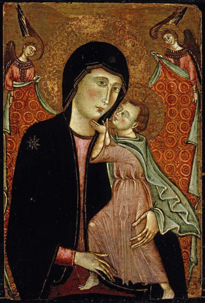 Мадонна с младенцем - живопись, картина Мадонна с младенцем, mm3410Мадонна с младенцем - живопись<br>Репродукция на холсте или бумаге. Любого нужного вам размера. В раме или без. Подвес в комплекте. Трехслойная надежная упаковка. Доставим в любую точку России. Вам осталось только повесить картину на стену!<br>