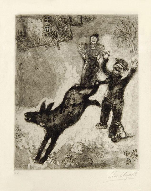 Шагал Марк, картина Осел и собакаШагал Марк<br>Репродукция на холсте или бумаге. Любого нужного вам размера. В раме или без. Подвес в комплекте. Трехслойная надежная упаковка. Доставим в любую точку России. Вам осталось только повесить картину на стену!<br>
