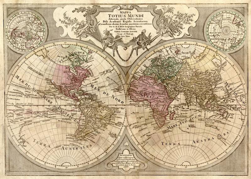 Старинные карты, картина Карта мира (1690)Старинные карты<br>Репродукция на холсте или бумаге. Любого нужного вам размера. В раме или без. Подвес в комплекте. Трехслойная надежная упаковка. Доставим в любую точку России. Вам осталось только повесить картину на стену!<br>