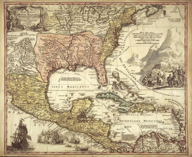 Старинные карты, картина Северная Америка (1759)Старинные карты<br>Репродукция на холсте или бумаге. Любого нужного вам размера. В раме или без. Подвес в комплекте. Трехслойная надежная упаковка. Доставим в любую точку России. Вам осталось только повесить картину на стену!<br>