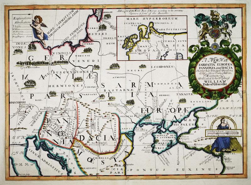 Старинные карты, картина Эдвард Уэллс .Карта Европы (1700)Старинные карты<br>Репродукция на холсте или бумаге. Любого нужного вам размера. В раме или без. Подвес в комплекте. Трехслойная надежная упаковка. Доставим в любую точку России. Вам осталось только повесить картину на стену!<br>