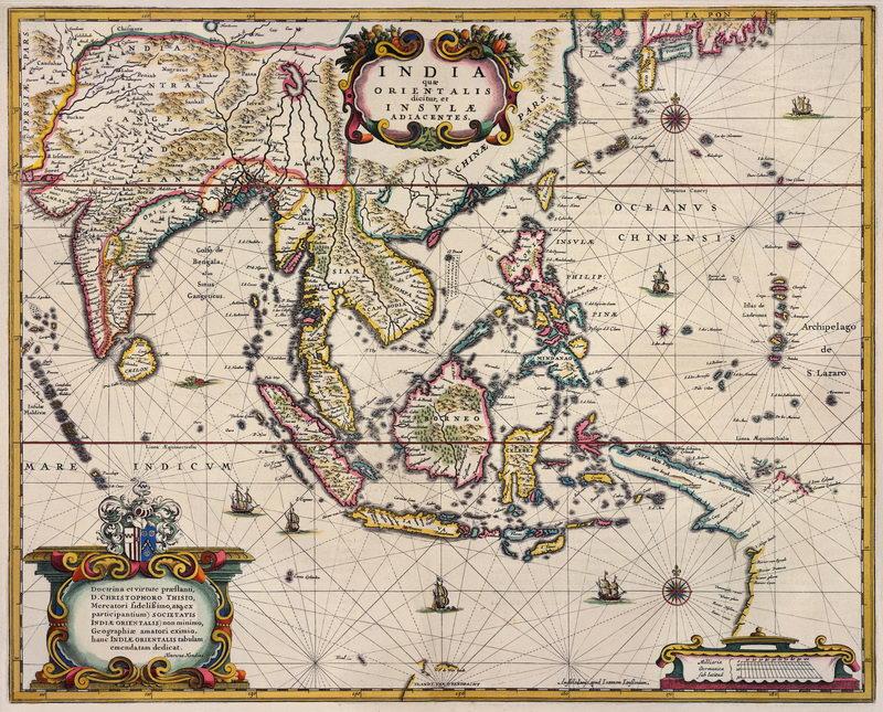 Постер Города и карты Индия и Юго-Восточная Азия (1658), 25x20 см, на бумагеСтаринные карты<br>Постер на холсте или бумаге. Любого нужного вам размера. В раме или без. Подвес в комплекте. Трехслойная надежная упаковка. Доставим в любую точку России. Вам осталось только повесить картину на стену!<br>