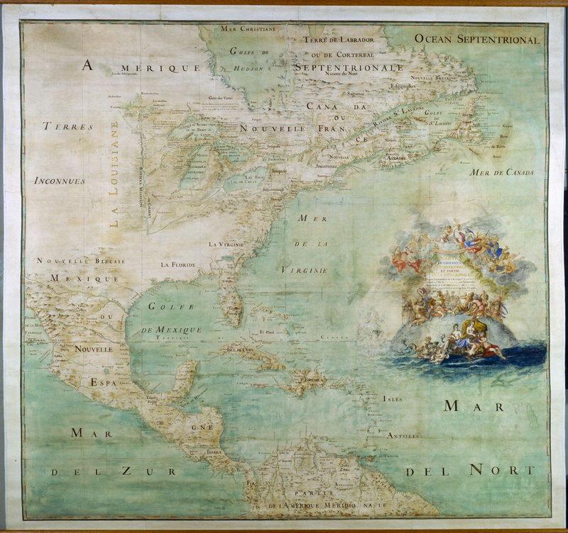 Искусство, картина Северная Америка (1681), 21x20 см, на бумагеСтаринные карты<br>Постер на холсте или бумаге. Любого нужного вам размера. В раме или без. Подвес в комплекте. Трехслойная надежная упаковка. Доставим в любую точку России. Вам осталось только повесить картину на стену!<br>