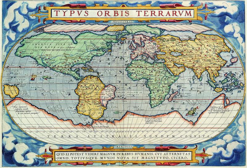 Старинные карты, картина Ортелиус Абрахам, Карта мираСтаринные карты<br>Репродукция на холсте или бумаге. Любого нужного вам размера. В раме или без. Подвес в комплекте. Трехслойная надежная упаковка. Доставим в любую точку России. Вам осталось только повесить картину на стену!<br>