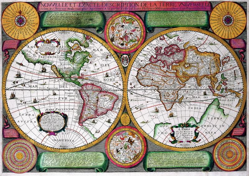 Старинные карты, картина Буассо Жан, Карта мираСтаринные карты<br>Репродукция на холсте или бумаге. Любого нужного вам размера. В раме или без. Подвес в комплекте. Трехслойная надежная упаковка. Доставим в любую точку России. Вам осталось только повесить картину на стену!<br>