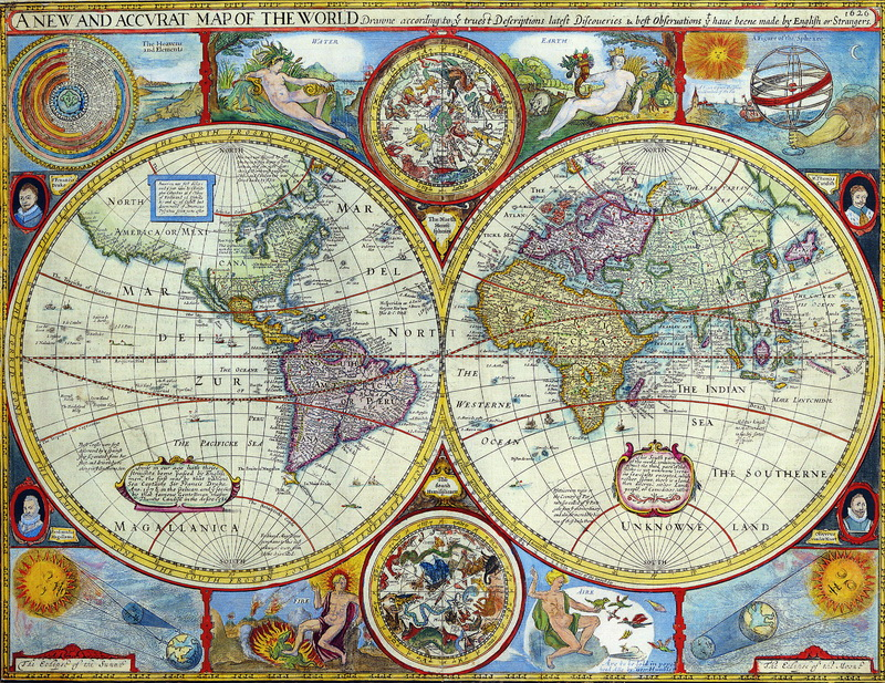 Старинные карты, картина Спид Джон, Карта мира (1626)Старинные карты<br>Репродукция на холсте или бумаге. Любого нужного вам размера. В раме или без. Подвес в комплекте. Трехслойная надежная упаковка. Доставим в любую точку России. Вам осталось только повесить картину на стену!<br>