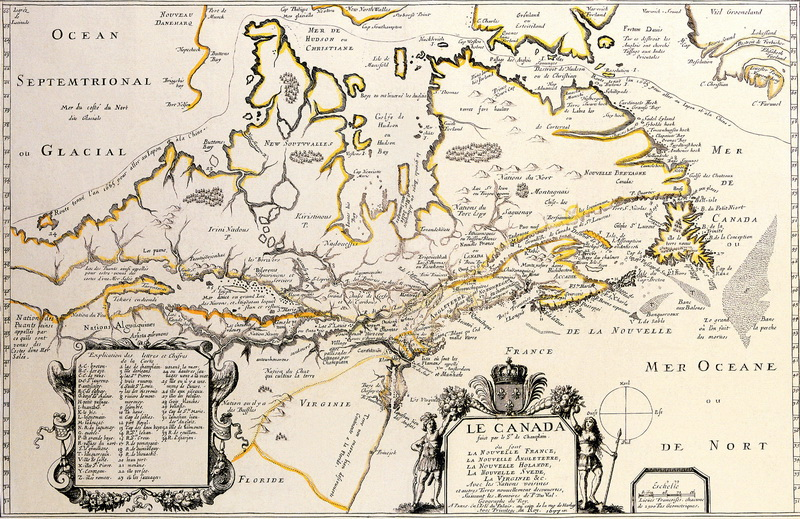 Постер Старинные карты Дюваль Пьер, Канада (1677)Старинные карты<br>Постер на холсте или бумаге. Любого нужного вам размера. В раме или без. Подвес в комплекте. Трехслойная надежная упаковка. Доставим в любую точку России. Вам осталось только повесить картину на стену!<br>