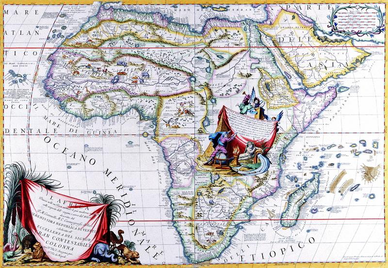 Постер Старинные карты Коронелли Винченцо Мария, Африка (1701)Старинные карты<br>Постер на холсте или бумаге. Любого нужного вам размера. В раме или без. Подвес в комплекте. Трехслойная надежная упаковка. Доставим в любую точку России. Вам осталось только повесить картину на стену!<br>