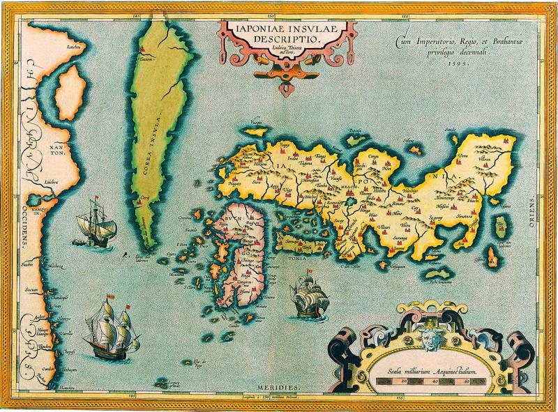 Старинные карты, картина Ортелиус Абрахам, Японские острова описанием Людовика Тесера (1608)Старинные карты<br>Репродукция на холсте или бумаге. Любого нужного вам размера. В раме или без. Подвес в комплекте. Трехслойная надежная упаковка. Доставим в любую точку России. Вам осталось только повесить картину на стену!<br>
