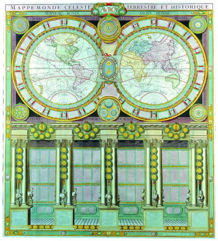 Старинные карты, картина Деснос Луи Чарльз, Карта мира (1780)Старинные карты<br>Репродукция на холсте или бумаге. Любого нужного вам размера. В раме или без. Подвес в комплекте. Трехслойная надежная упаковка. Доставим в любую точку России. Вам осталось только повесить картину на стену!<br>