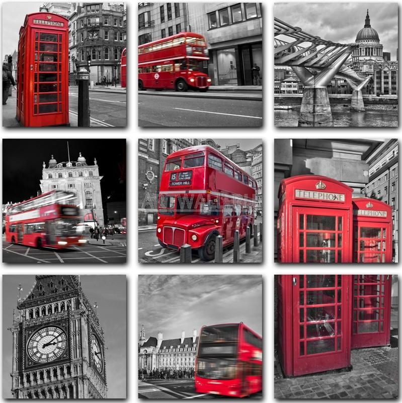 Модульная картина «Лондон»Города<br>Модульная картина на натуральном холсте и деревянном подрамнике. Подвес в комплекте. Трехслойная надежная упаковка. Доставим в любую точку России. Вам осталось только повесить картину на стену!<br>