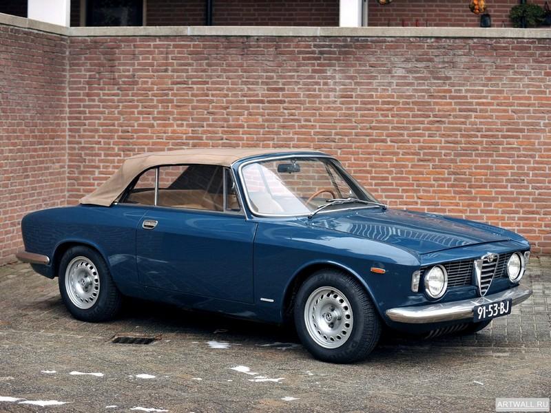Alfa Romeo Giulia GTС (105) 1964-66 дизайн Touring, 27x20 см, на бумагеAlfa Romeo<br>Постер на холсте или бумаге. Любого нужного вам размера. В раме или без. Подвес в комплекте. Трехслойная надежная упаковка. Доставим в любую точку России. Вам осталось только повесить картину на стену!<br>