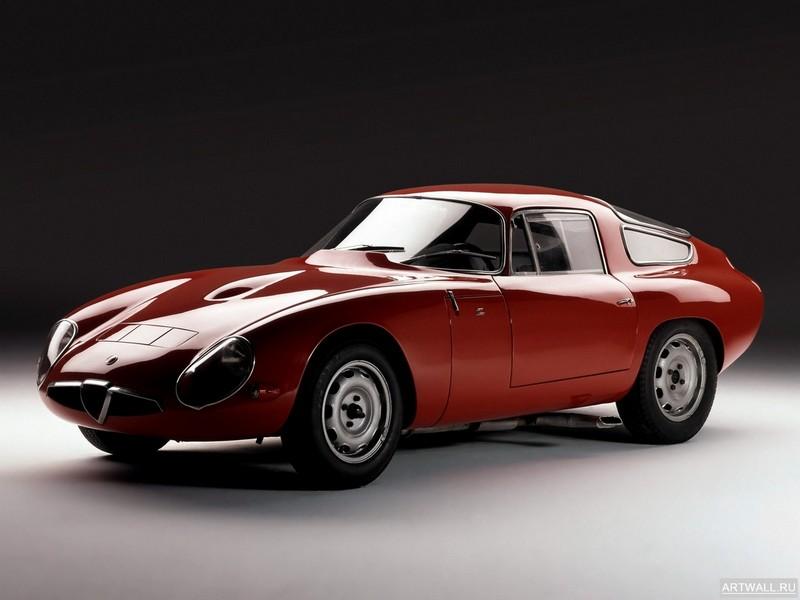 Постер Alfa Romeo Giulia TZ (105) 1963-65, 27x20 см, на бумагеAlfa Romeo<br>Постер на холсте или бумаге. Любого нужного вам размера. В раме или без. Подвес в комплекте. Трехслойная надежная упаковка. Доставим в любую точку России. Вам осталось только повесить картину на стену!<br>