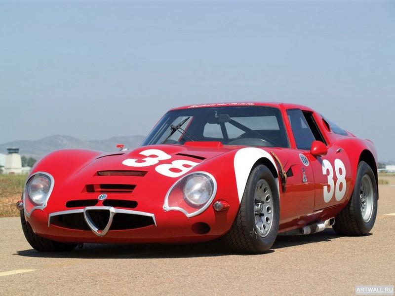 Постер Alfa Romeo Giulia TZ 2 1965-67, 27x20 см, на бумагеAlfa Romeo<br>Постер на холсте или бумаге. Любого нужного вам размера. В раме или без. Подвес в комплекте. Трехслойная надежная упаковка. Доставим в любую точку России. Вам осталось только повесить картину на стену!<br>