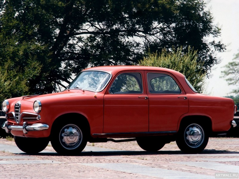 Постер Alfa Romeo Giulietta Berlina 1955-59, 27x20 см, на бумагеAlfa Romeo<br>Постер на холсте или бумаге. Любого нужного вам размера. В раме или без. Подвес в комплекте. Трехслойная надежная упаковка. Доставим в любую точку России. Вам осталось только повесить картину на стену!<br>