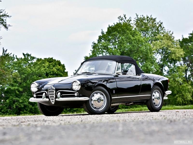 Постер Alfa Romeo Giulietta Spider (750 101) 1956-62 дизайн Pininfarina, 27x20 см, на бумагеAlfa Romeo<br>Постер на холсте или бумаге. Любого нужного вам размера. В раме или без. Подвес в комплекте. Трехслойная надежная упаковка. Доставим в любую точку России. Вам осталось только повесить картину на стену!<br>