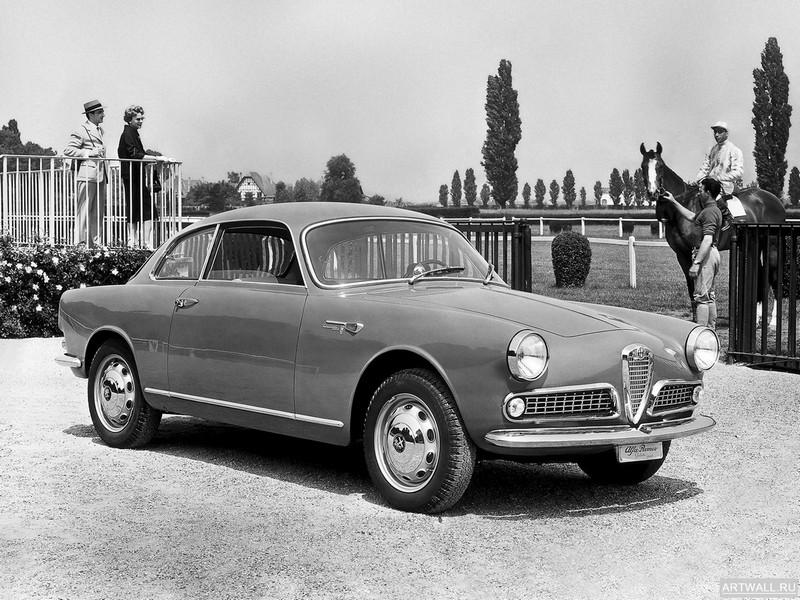 Постер Alfa Romeo Giulietta Sprint (750 101) 1958-62 дизайн Bertone, 27x20 см, на бумагеAlfa Romeo<br>Постер на холсте или бумаге. Любого нужного вам размера. В раме или без. Подвес в комплекте. Трехслойная надежная упаковка. Доставим в любую точку России. Вам осталось только повесить картину на стену!<br>