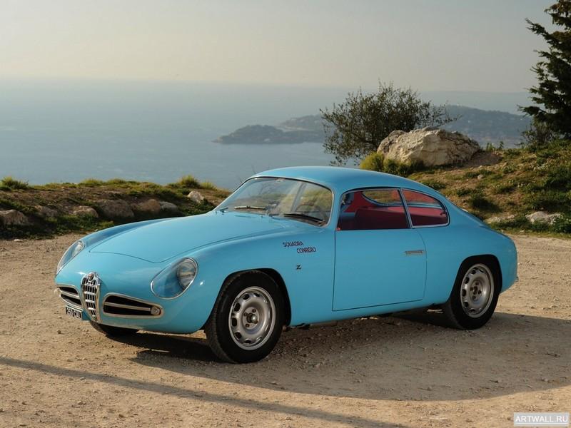 Постер Alfa Romeo Giulietta SVZ (750) 1956-58 дизайн Zagato, 27x20 см, на бумагеAlfa Romeo<br>Постер на холсте или бумаге. Любого нужного вам размера. В раме или без. Подвес в комплекте. Трехслойная надежная упаковка. Доставим в любую точку России. Вам осталось только повесить картину на стену!<br>