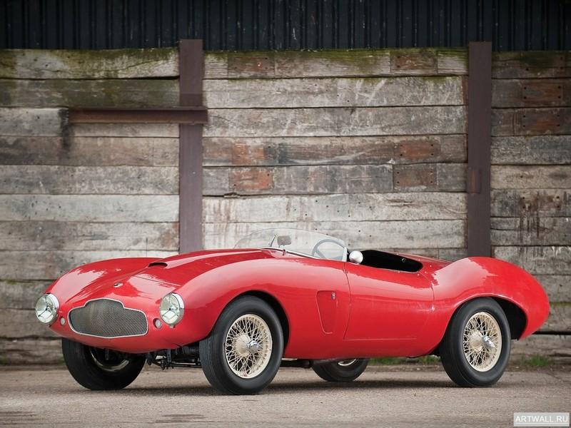 Постер Aston Martin DB2 4 Cabriolet 1954 дизайн Bertone, 27x20 см, на бумагеAston Martin<br>Постер на холсте или бумаге. Любого нужного вам размера. В раме или без. Подвес в комплекте. Трехслойная надежная упаковка. Доставим в любую точку России. Вам осталось только повесить картину на стену!<br>